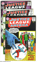 Silver Age (1956-1969):Superhero, Justice League of America #14-17 Group (DC, 1962) Condition: Average VG+. Overstreet 2003 value for group = $148. From the... (Total: 4 Comic Books Item)