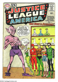 Silver Age (1956-1969):Superhero, Justice League of America Group (DC, 1962) Condition: Average GD+. This group includes #11 and 13. Overstreet 2003 value for... (Total: 2 Comic Books Item)