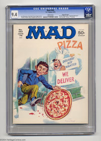 Mad #183 Gaines file copy (EC, 1976) CGC NM 9.4 White pages. Mort Drucker, Don Martin, Dave Berg, Sergio Aragones and An...
