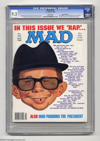 Mad #278 Gaines file copy (EC, 1988) CGC NM- 9.2 White pages Angelo Torres, Don Martin, Mort Drucker, Dave Berg and Al J...