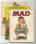 Silver Age (1956-1969):Humor, Mad Issues #101-114 Group (EC, 1966-67). Art by Frank Frazetta, Batman by Sergio Aragones (#106). Overstreet 2003 value for ... (Total: 14 Comic Books Item)