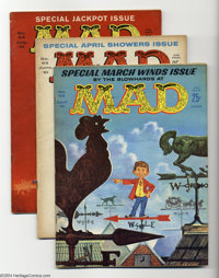 Mad Issues #62-65 Group (EC, 1961) Condition: Average VG/FN. Overstreet 2003 value for group = $85.... (Total: 5 Comic B...