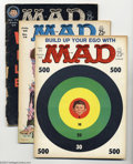 Silver Age (1956-1969):Humor, Mad Issues #71-77 Group (EC, 1962-63). #71, 72, and 75 are FN+; all others grade GD. Issue #72 is the 10th Anniversary speci... (Total: 7 Comic Books Item)