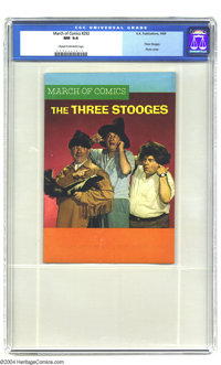 March of Comics #292 The Three Stooges (K. K. Publications, Inc., 1969) CGC NM 9.4 Cream to off-white pages. Highest gra...
