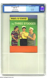 March of Comics #304 The Three Stooges (K. K. Publications, Inc., 1967) CGC NM+ 9.6 Cream to off-white pages. Highest gr...