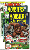 Bronze Age (1970-1979):Horror, Monsters on the Prowl Group (Marvel, 1971) Condition: Average VF.This group includes #9, 12, 16-18, and 24. Overstreet 2003...(Total: 6 Comic Books Item)