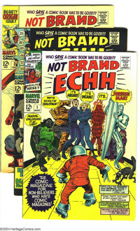 Not Brand Echh Silver Group (Marvel, 1967-69) Condition: Average FN+. This group consists of 12 comics: #1-12. Artists i...