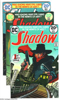 Bronze Age (1970-1979):Miscellaneous, The Shadow Group (DC, 1973) Condition: NM-. Includes issues #1, 2,and 4, all with Michael Kaluta art. Overstreet 2003 value...(Total: 3 Comic Books Item)