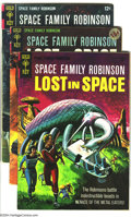 Silver Age (1956-1969):Science Fiction, Space Family Robinson Group (Gold Key, 1960s) Condition: Average FN. This group includes #15, 17-18, 21-27, 29-30, and 33-36... (Total: 16 Comic Books Item)