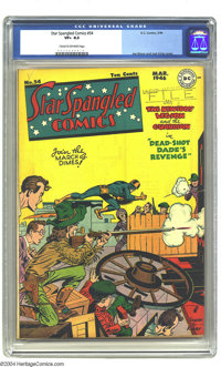 Detective Comics #38 (DC, 1940) CGC VG- 3.5 Light tan to off-white pages. Making his grand debut appearance this issue i...