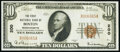 Boston, MA - $10 1929 Ty. 1 The First National Bank Ch. # 200 Extremely Fine