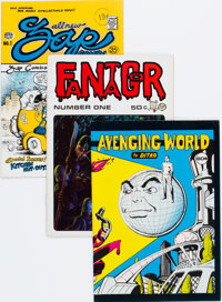 Underground Comix Group of 35 (Various Publishers, 1969-76) Condition: Average FN.... (Total: 35)