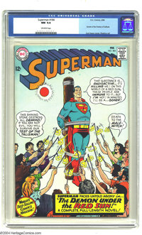 Superman #184 (DC, 1966) CGC NM 9.4 Off-white pages. Curt Swan cover. Fortress of Solitude story. Overstreet 2003 NM 9.4...