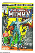 Bronze Age (1970-1979):Horror, Supernatural Thrillers #5 (Marvel, 1973) Condition: FN/VF. Firstappearance of the Living Mummy. Overstreet 2003 FN 6.0 valu...