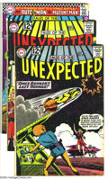 Silver Age (1956-1969):Horror, Tales of the Unexpected Group (DC, 1962-67) Condition: AverageGD/VG. This lot consists of issues #72, 73, 97 (three copies)...(Total: 10 Comic Books Item)
