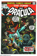 Bronze Age (1970-1979):Horror, Tomb of Dracula #13 (Marvel, 1973) Condition: NM-. Origin of Blade.Gene Colan art. Overstreet 2003 NM 9.4 value = $60....