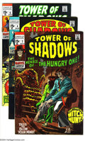 Silver Age (1956-1969):Horror, Tower of Shadows Group (Marvel, 1969-71) Condition: Average FN/VF.This group includes #2 (Neal Adams art), 4, 6, 7, and 9 (...(Total: 5 Comic Books Item)