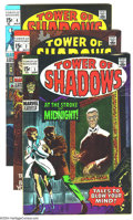 Silver Age (1956-1969):Horror, Tower of Shadows Group (Marvel, 1969-70) Condition: Average FN.THis group includes #1, 2, three copies of #4, 5, and two co...(Total: 8 Comic Books Item)