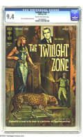 Silver Age (1956-1969):Horror, Twilight Zone #3 (Gold Key, 1963) CGC NM 9.4 Cream to off-whitepages. Alex Toth and Mike Sekowsky art. Only one other copy ...