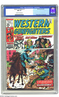 Bronze Age (1970-1979):Western, Western Gunfighters #1 (Marvel, 1970) CGC NM 9.4 Off-white to white pages. Ghost Rider appearance. Art by Herb Trimpe, Syd S...