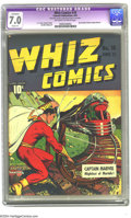 Golden Age (1938-1955):Superhero, Whiz Comics #18 (Fawcett, 1941) CGC Apparent FN/VF 7.0 Slight (A) Off-white to white pages. C. C. Beck, Mac Raboy and Charle...