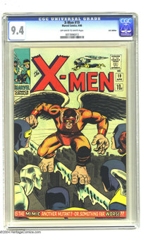 X-Men #19 (Marvel, 1966) CGC NM 9.4 Off-white to white pages. British edition. First appearance of the Mimic. Overstreet...