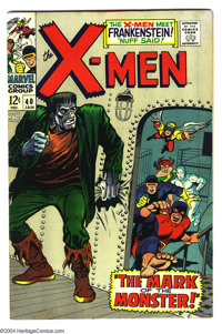X-Men #40 (Marvel, 1968) Condition: VF-. Don Heck and George Tuska art. Overstreet 2003 VF 8.0 value = $68