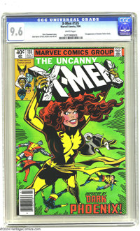 X-Men #135 (Marvel, 1980) CGC NM+ 9.6 White pages. John Byrne and Terry Austin art. Overstreet 2003 NM 9.4 value = $45...
