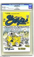 Silver Age (1956-1969):Alternative/Underground, Zap Comix 1 (Apex Novelties, 1968) CGC VF/NM 9.0 White pages. Thirdprinting of this classic issue, which kick-started the e...