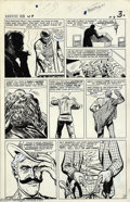 """Original Comic Art:Panel Pages, Larry Lieber and Carl Hubbell- Original Art for Rawhide Kid #49, Group of 8 pages (Marvel, 1965). Pages from """"The Menacing M..."""
