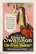 Movie Posters:Drama, The Great Moment (Paramount, 1921)....