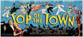 Movie Posters:Musical, Top of the Town (Universal, 1937)....