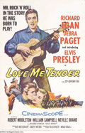 Movie Posters:Musical, Love Me Tender (Twentieth Century Fox, 1956)....
