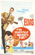 Movie Posters:Musical, It Happened at the World's Fair (MGM, 1963)....