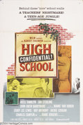 Movie Posters:Action, High School Confidential (MGM, 1958)....