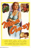 Movie Posters:Bad Girl, Man Crazy (20th Century Fox, 1953)....