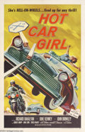 Movie Posters:Cult Classic, Hot Car Girl (Universal, 1958)....