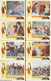 Hot Rod Rumble (Allied Artists, 1957).... (8 pieces)