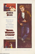 Movie Posters:Drama, Rebel Without a Cause (Warner Brothers, 1955)....