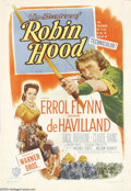 Movie Posters:Adventure, Adventures of Robin Hood (Warner Brothers, R-1948)....