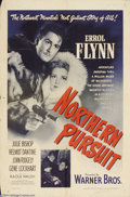 Movie Posters:Adventure, Northern Pursuit (Warner Brothers, 1943)....