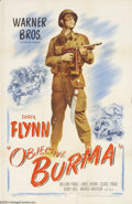 Movie Posters:War, Objective Burma (Warner Brothers, 1945)....