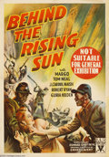 Movie Posters:War, Behind the Rising Sun (RKO, 1943)....