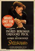 Movie Posters:Mystery, Spellbound (United Artists, 1945)....