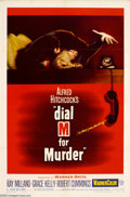 Movie Posters:Horror, Dial M For Murder (Warner Brothers, 1954)....