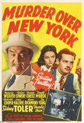 Movie Posters:Mystery, Murder Over New York (20th Century Fox, 1940)....