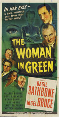 Movie Posters:Mystery, The Woman in Green (Universal, 1945)....