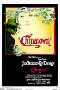 Chinatown (Paramount, 1974).... (9 pieces)
