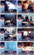 Movie Posters:Horror, Jaws (Universal, 1975).... (9 pieces)