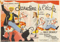 "Movie Posters:Comedy, Claudine a' l'école ""Claudine at School"" (Les Films Cristal,1937)...."